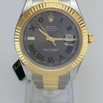 ロレックス (Rolex) Datejust II 41mm Two Tone Fluted Bezel REF 116333