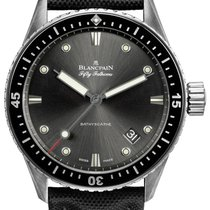 Blancpain Fifty Fathoms Bathyscaphe Steel 43mm Grey United States of America, New York, Airmont