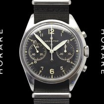 Hamilton Broad Arrow Chronograph Military Valjoux 7733