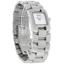 Movado Eliro Ladies Stainless Steel MOP Swiss Quartz Watch...