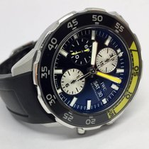 IWC Aquatimer Black Yellow Automatic Day Date Chronograph 44 mm