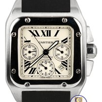 Cartier MINT Cartier Santos 100 XL Chronograph 2740 Rubber...