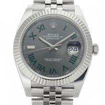 Rolex Datejust II Steel 41mm Green Roman numerals United States of America, New York, New York