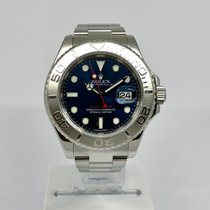 Rolex Yacht-Master Platinum Bezel Blue Face