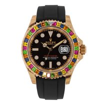 Rolex Yacht-Master 40 116695SATS Very good Rose gold 40mm Automatic