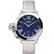U-Boat Classico Steel 40mm Blue Arabic numerals