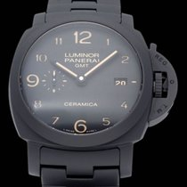 Panerai Luminor 1950 3 Days GMT Automatic pre-owned 44mm Ceramic