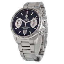 TAG Heuer Grand Carrera Steel 43mm Black No numerals United States of America, Massachusetts, Andover