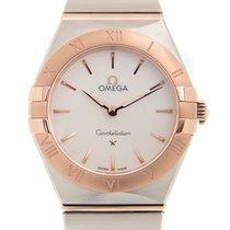Omega Constellation Gold/Steel 28mm White
