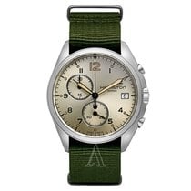 Hamilton Khaki Pilot Pioneer new Quartz Chronograph Watch with original box H76552955