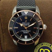 Breitling Superocean Héritage II 42 Gold/Steel 42mm Black No numerals