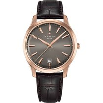Zenith Captain Central Second Rose gold 40mm Grey No numerals United States of America, New Jersey, Princeton