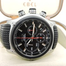 Ebel 1911 BTR pre-owned 45mm Black Chronograph Date Rubber