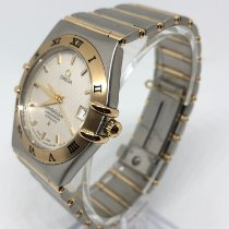 Omega Constellation Ladies Gold/Steel 35mm White Singapore, Singapore