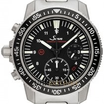 Sinn EZM 13 Steel 41mm Black