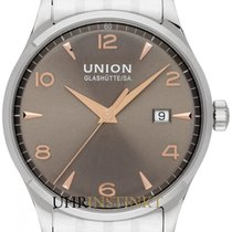 Union Glashütte Women's watch Noramis Date 34mm Automatic new Watch with original box and original papers 2019