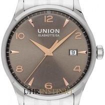 Union Glashütte Noramis Date Steel 34mm Grey