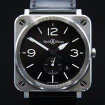 Bell & Ross BR S Stahl 39mm Schwarz
