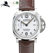 Panerai Steel Automatic White 44mm pre-owned Luminor Marina 1950 3 Days Automatic