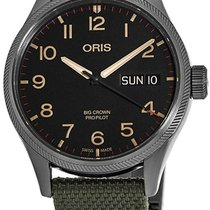 Oris Big Crown ProPilot Day Date Steel Black United States of America, New York, Brooklyn