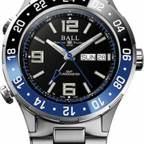 Ball Ocel 40mm Automatika GMT DG3030B-S1CJ-BK nové
