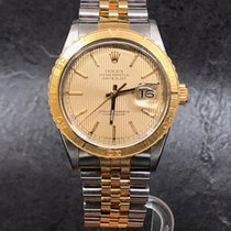 Rolex Datejust Turn-O-Graph Acero y oro 36mm Champán Sin cifras España, Madrid