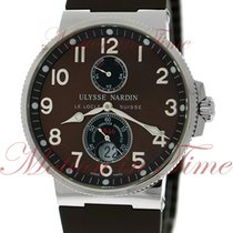 Ulysse Nardin Marine Chronometer 41mm new Automatic Watch with original box and original papers 263-66-3/625