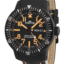 Fortis B-42 Black Mars 500 Day/Date 647.28.13 L.13 -Limited...