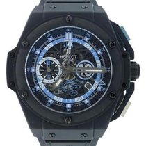 Hublot King Power Ceramic 48mm Transparent No numerals