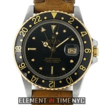 Rolex GMT-Master Steel & 18k Yellow Gold Nipple Dial Unpolishe...