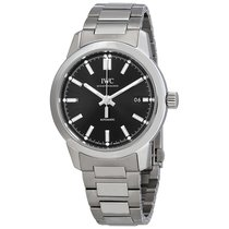 IWC Men's IW357002 Ingenieur Black Dial  Automatic Watch