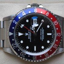 Rolex [Service + 24M. Warranty] GMT Master I -PEPSI- 1997