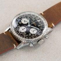 Breitling Navitimer Cosmonaute Stål Svart Arabisk