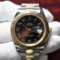 Rolex Datejust II Gold/Steel 41mm Black Roman numerals United States of America, Florida, Debary