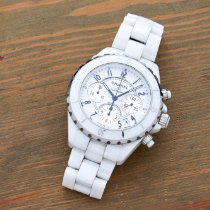Chanel Ceramic 41mm Automatic H1007 pre-owned