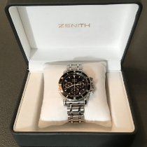 Zenith El Primero Chronograph gebraucht 39mm Stahl