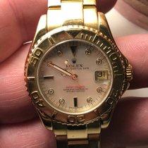 Rolex Gult gull 35mm Automatisk 68628 brukt Norge, 1182
