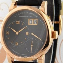 A. Lange & Söhne Lange 1 Red gold 38.5mm Silver Roman numerals United States of America, Arizona, Scottsdale