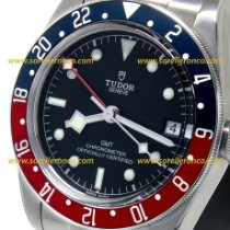 Tudor Black Bay GMT Ocel 41mm Černá Bez čísel