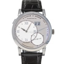 A. Lange & Söhne Grand Lange 1 Platinum 40mm Silver Roman numerals United States of America, Maryland, Baltimore, MD