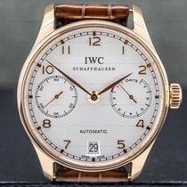 IWC Portuguese Automatic Rose gold 42.3mm Silver Arabic numerals United States of America, Massachusetts, Boston