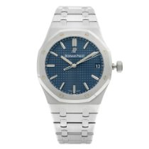 Audemars Piguet Royal Oak Steel 41mm Blue United States of America, New York, New York