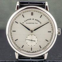 A. Lange & Söhne White gold 37mm Manual winding 216.026 pre-owned United States of America, Massachusetts, Boston
