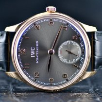 IWC Portuguese Hand-Wound Rose gold 44mm Grey Arabic numerals United States of America, Michigan, Southfield