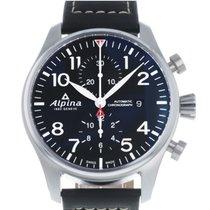 Alpina Startimer Pilot Stahl 44mm
