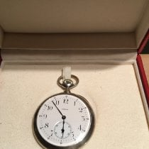 Omega Silver Manual winding 47mm pre-owned