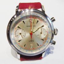 Wakmann Steel 37mm Manual winding Wakmann Venus 188 Chronograph SS pre-owned United States of America, California, Laguna Beach