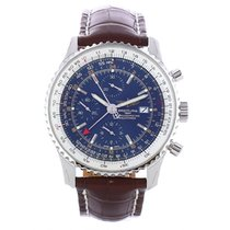 Breitling Navitimer Steel 46mm Blue