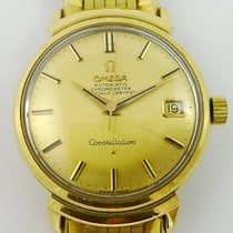 Omega Yellow gold Automatic Gold No numerals 34,5mm pre-owned