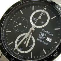 TAG Heuer Carrera Calibre 16 CV2010-3 Very good Steel 41mm Automatic